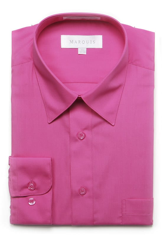 Marquis Fuschia Dress Shirt Fine Threads