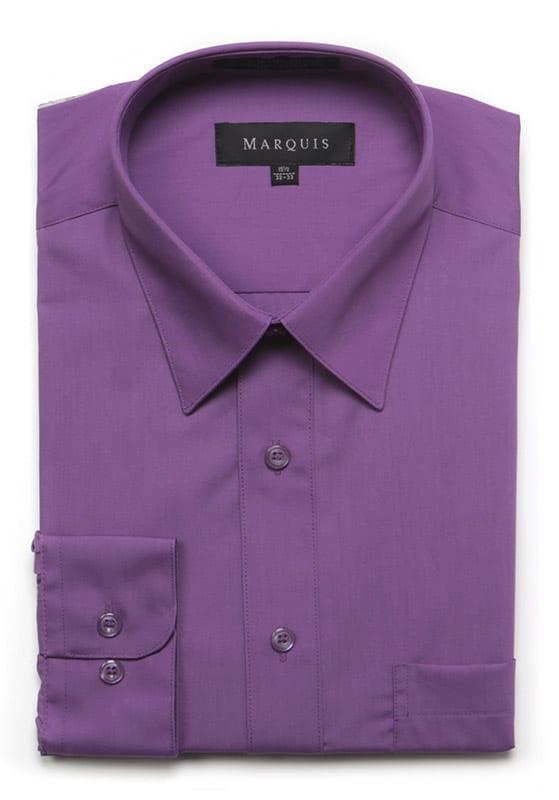 97d7f5d75341 Marquis Grape Dress Shirt – Fine Threads